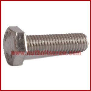 Din 933 Stainless Steel Hex Screws manufacturers india