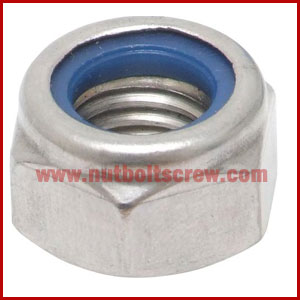 Din 982 Stainless Steel Nyloc Nuts Suppliers Nut Bolt Screw