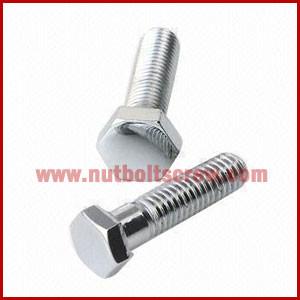Din 933 Stainless Steel Hex Screws