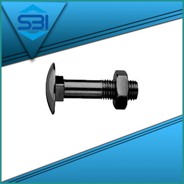Exporter of din 603 carriage bolt in Gujarat